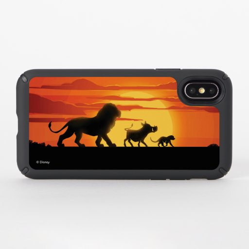 Lion King | Simba, Pumbaa, & Timon Silhouette Speck iPhone XS Case