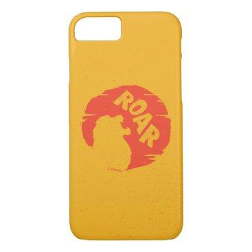 "Lion King   Simba ""Roar"" Silhouette iPhone 8/7 Case"