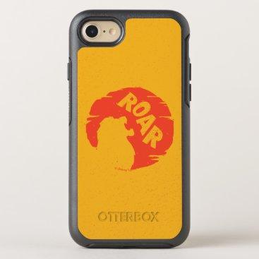 "Lion King   Simba ""Roar"" Silhouette OtterBox Symmetry iPhone 8/7 Case"
