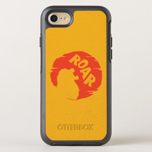 "Lion King | Simba ""Roar"" Silhouette OtterBox Symmetry iPhone 8/7 Case"