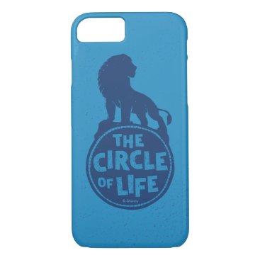 "Lion King   Simba ""The Circle Of Life"" iPhone 8/7 Case"