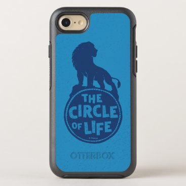 """Lion King   Simba """"The Circle Of Life"""" OtterBox Symmetry iPhone 8/7 Case"""