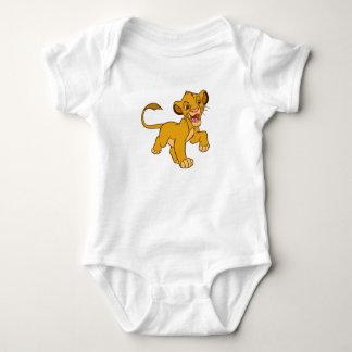 Lion King Simba walking Disney Baby Bodysuit