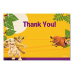 Lion King Thank You Cards Custom Announcement