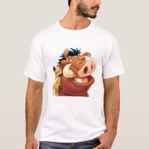 Lion King Timon and Pumba smiling Disney T-Shirt