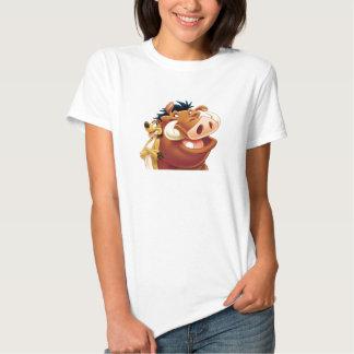 Lion King Timon and Pumba smiling Disney T Shirt