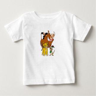 Lion King Timon Simba Pumba with ladybug Disney Baby T-Shirt