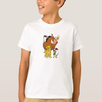 Lion King Timon Simba Pumba with ladybug Disney T-Shirt