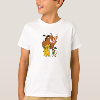 Lion King Timon Simba Pumba with ladybug Disney T-Shirt