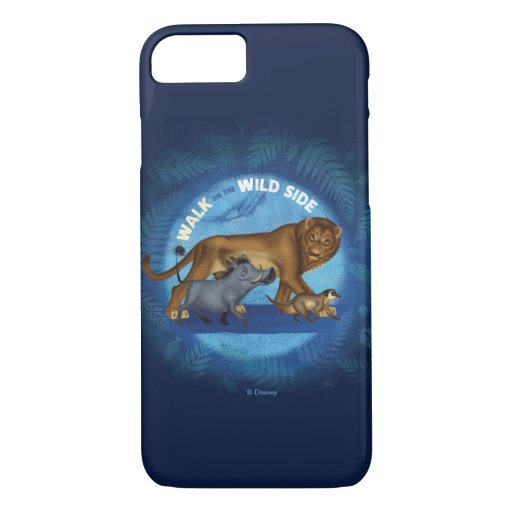 Lion King | Walk On The Wild Side iPhone 8/7 Case