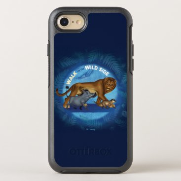 Lion King   Walk On The Wild Side OtterBox Symmetry iPhone 8/7 Case