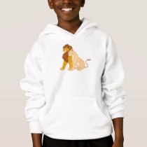Lion King's Adult Simba and Nala Disney Hoodie