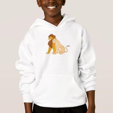 Disney Themed Lion King's Adult Simba and Nala Disney Hoodie