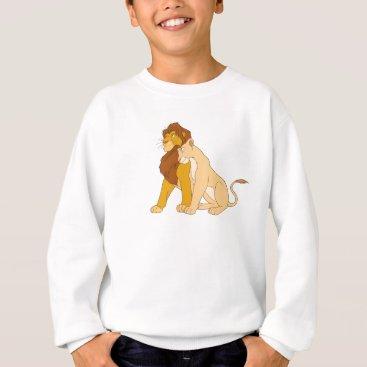 Disney Themed Lion King's Adult Simba and Nala Disney Sweatshirt