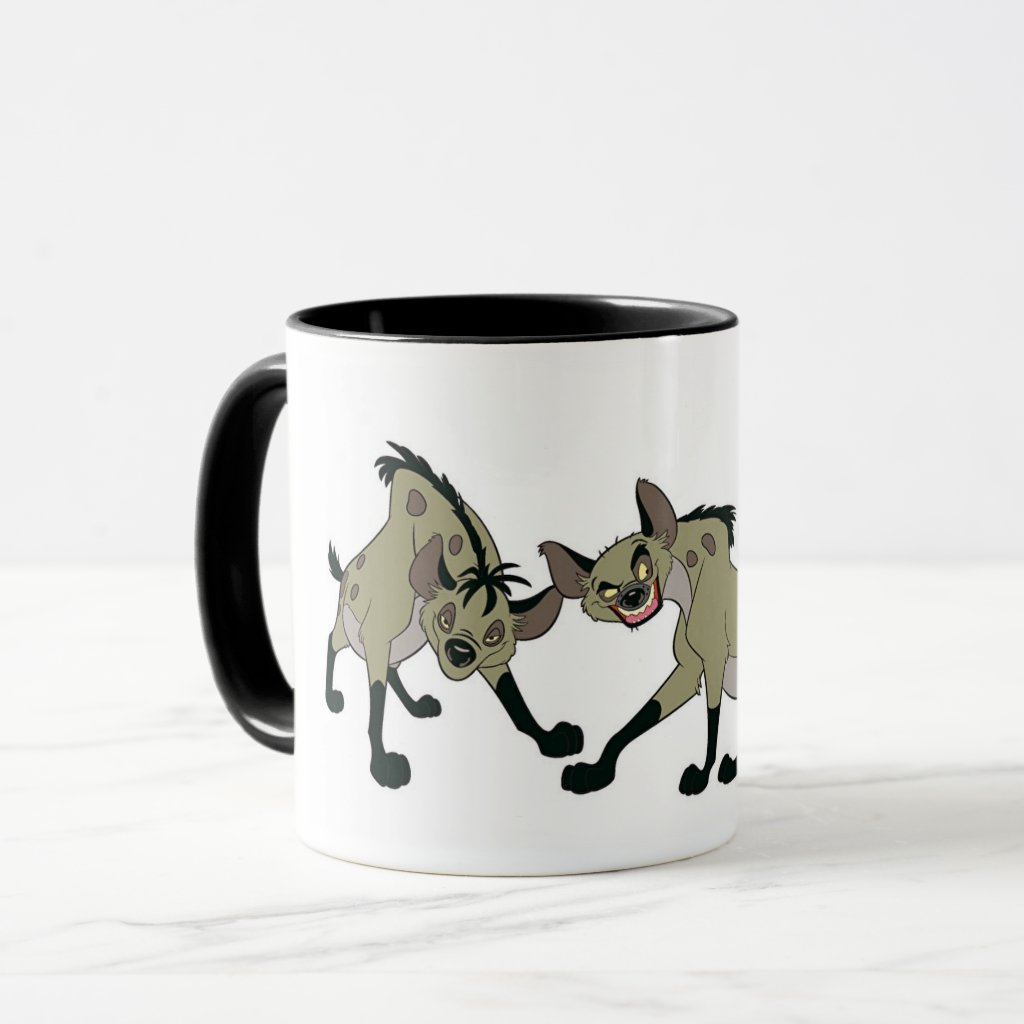 Lion King's Hyenas Disney Mug