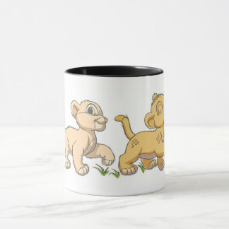 Lion King's Simba and Nala  Disney Mug