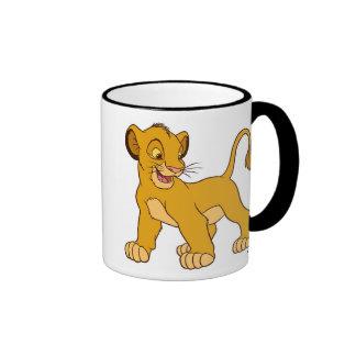 Lion King's Simba Disney Ringer Coffee Mug