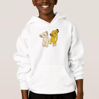 Lion King's Simba & Nala smiling Disney Hoodie