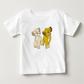 Lion King's Simba & Nala smiling Disney Infant T-shirt