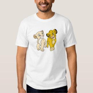 Lion King's Simba & Nala smiling Disney Shirt