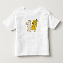 Lion King's Simba & Nala smiling Disney Toddler T-shirt