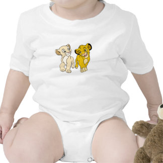 Lion King's Simba & Nala smiling Disney Tee Shirt