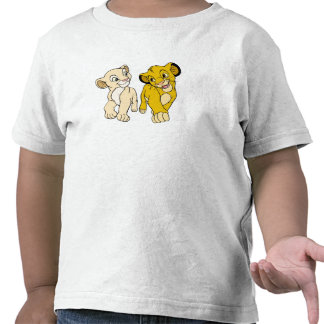 Lion King's Simba & Nala smiling Disney Tshirts
