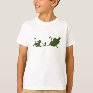 Lion King's Simba, Timon, and Pumba Silhouettes T-Shirt