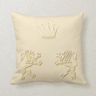 Lion Kings Throw Pillow