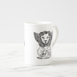 Lion & Lam Bone China Mug Tea Cup