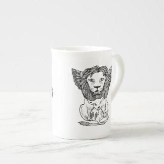 Lion & Lam Bone China Mug Tea Cup