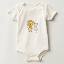 Lion & Lamb Baby Bodysuit