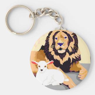 Lion Lamp Key Chain