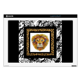 "Lion Lap Top Two 17"" Laptop Skin"