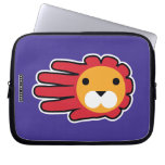 Hand shaped Lion laptop sleeve