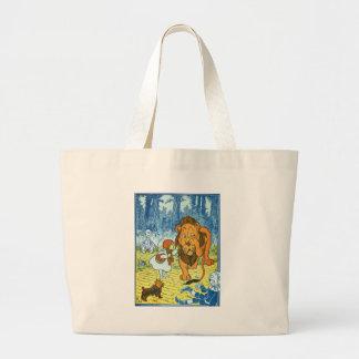 Lion Large Tote Bag