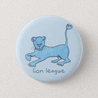 """Lion League 2-1/4"""" Round Pinback Button"""