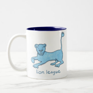 Lion League Two-Tone Coffee Mug