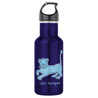 Lion League Water Bottle