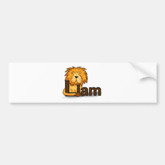 Lion_Liam Bumper Sticker