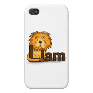Lion_Liam Case For iPhone 4