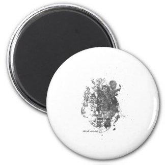 Lion Lion 2 Inch Round Magnet