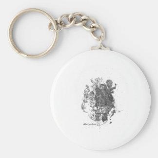 Lion Lion Basic Round Button Keychain