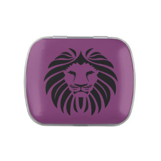 Lion, Lion Mane, Pride, Safari Jelly Belly Candy Tin