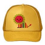 Lion Lioness Happy Cat Cute Cartoon Animal Trucker Hat