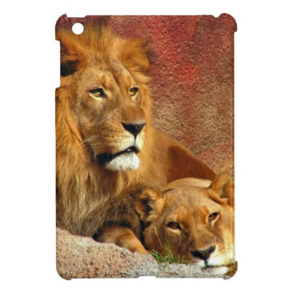 Lion & Lioness Resting Case For The iPad Mini