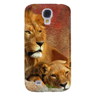 Lion & Lioness Resting Galaxy S4 Cover