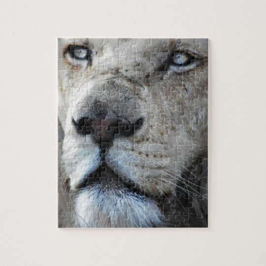 Lion listens to my heartbeat Africa Jigsaw Puzzle