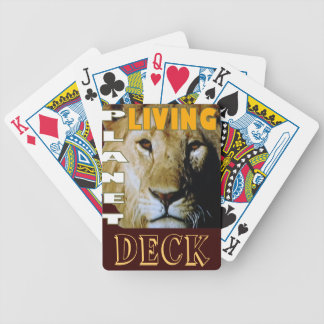 Lion Living planet eco-friendly Bicycle Playing Cards