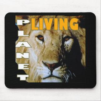 Lion Living planet eco-friendly Mouse Pad